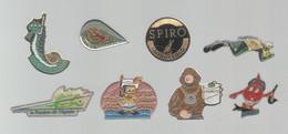 PINS PIN'S PLONGEE 932 SPIRO APNEE DON DU SANG FFDSB FRAMETO SIROPH TIR  LOT 8 PINS - Immersione