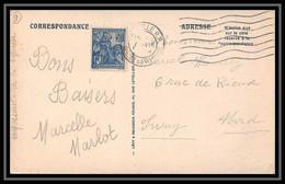 115171 Carte Postale (postcard) Cannebière Bouches Du Rhone N°257 Orléans Par Jeanne D'Arc Marseille A2b Avec Heure 1929 - 1921-1960: Modern Period
