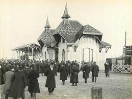 170721 PHOTO E BRUCHON THEME SPORT HIPPIOSME HIPPODROME COURSES DE VILLEURBANNE 69 RHONE PAVILLON DU PESAGE 1913 - Horse Show