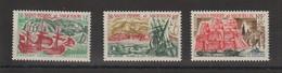 Saint Pierre Et Miquelon 1969 Bateaux 395-397 3 Val ** MNH - Unused Stamps