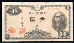 495-Japon 1 Yen 1946 - 186 En L'état - Japón