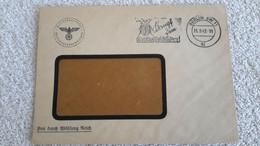 Rare Briefumschlag Stempel Reichsdruckerei Wertzeichenverwaltung Kampf D. Kartoffelkäfer 1942 Briefstempel Berlin - 1939-45