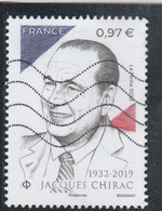FRANCE 2020 - JACQUES CHIRAC OBLITERE YT 5428 - Used Stamps