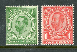 Great Britain MH 1911 King George V - Unused Stamps