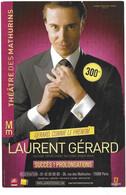 Laurent Gérard - Théâtre Des Mathurins - Programs