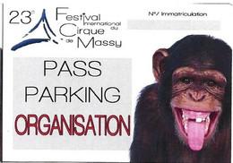 23 ème Festival Du Cirque De Massy - Tickets - Vouchers