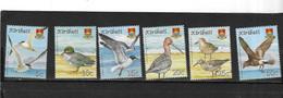 KIRIBATI Nº 728 AL 732 MICHEL - Marine Web-footed Birds