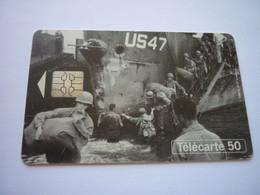 Télécarte  1944-1994 - 50ème Anniversaire  Des Débarquements Et De La Libération De La France - Army