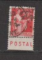 Paix N° 283 Type 3 - Pubblicitari
