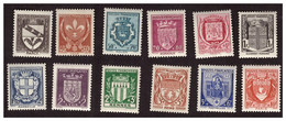 Série N° 526 à 537 Neufs ** - Unused Stamps