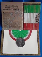 10.000  Argento - 200°anniversario Del Tricolore - 10 000 Lire