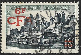 REUNION  CFA  1955 - YT 325 - Uzerche - Oblitéré - Gebruikt