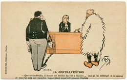 O'GALOP, KOSSUTH - Automobile, La Contravention - Other Illustrators