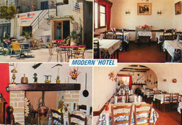 20. CPSM. - MACINAGGIO -  Modern'Hotel -  Esther Bellini - Propriétaire - Façade - Salle De Restaurant - Scan Du Verso - - Ristoranti