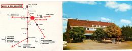 46. Carte Double Pub - ROCAMADOUR -hotel Restaurant Le Panoramic -  Gastronomie Du Quercy -  2 Scans - - Ristoranti