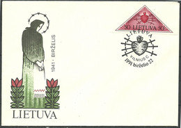Lithuania Cover 1991 Year - Lithuania