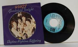 PAUL MC CARTNEY E WINGS 45 GIRI DEL 1979  GOODNIGHT TONIGHT /  DAYTIME NIGHTIME SUFFERING - ITALIA - Disco, Pop