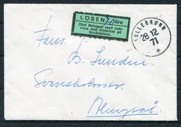 1971 Sweden Sollebrunn Cover. Postage Due, Taxe Losen - Briefe U. Dokumente