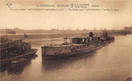 "Zeebrugge - Le Navire Anglais ""Arthemisia"" - Zeebrugge"