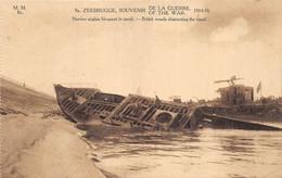 Zeebrugge - Navires Anglais Bloquant Le Canal - Zeebrugge