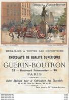 CHROMOS. Chocolat GUERIN-BOUTRON (Paris)   La Balayeuse...S2726 - Guerin Boutron