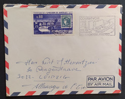 N° 1659 - 0.80 émission De Bordeaux / COURBEVOIE 1970 >>> ALLEMAGNE DDR - 1961-....
