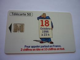 Télécarte Numérotation à 10 Chiffres -18 Octobre 1996 à 23h - 08/96 - 2.000.000 Ex - Puce SC7 - Operatori Telecom