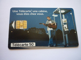 Télécarte Une Cabine, Vous êtes Chez Vous - 12/97 - 4.000.000 Ex - Puce SC7- G - Operatori Telecom