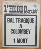 HARA-KIRI - Hebdomadaire Bête Et Méchant - Humour Corrosif - N° 94 De 1970 - 12 Pages Grand Format 29x36 Cm - 1950 - Today