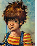 Enfants - Illustration - Dessin De Antonio Gonzales - Les Gamins- CPM - Voir Scans Recto-Verso - Kindertekeningen
