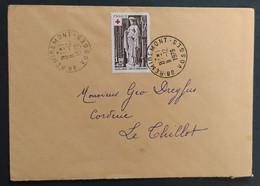 N° 1911 - 1.00 + 0.25 Croix Rouge - Sculpture / REMIREMONT 11.12.1976 >>> LE THILLOT - 1961-....