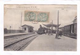 CPA :  14 X 9  -  La Gare De SEMBADEL  (P.L.M.) -  Bifurcation Des Lignes De La Chaise-Dieu, Craponne Et Allègre - Otros Municipios