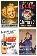 Publicite - Mir - Diadermine - Schwarzkopf - Le Chat - Carte Neuve - CPM - Voir Scans Recto-Verso - Publicité