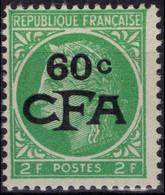 REUNION CFA Poste 286 ** MNH Type Cérès De Mazelin  [mp] CV 9 € - Unused Stamps