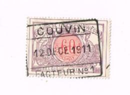 """Oblitération """"COUVIN"""" Sur 60 Centimes. - 1895-1913"""