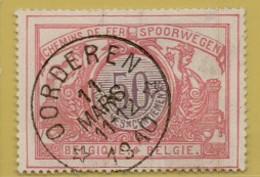 AA-1990  OORDEREN   Sterstempel Spoor 35 - 1895-1913