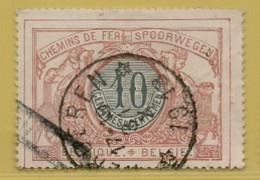 AA-1991  HERDEREN   Sterstempel Spoor 28 - 1895-1913