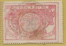 AA-1993  EBEN EMAEL Met Afdruk, Op De Rugzijde    Spoor 21 - 1895-1913