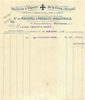 HUILERIE A VAPEUR DE LA CROIX D'ARCUEIL STE DE MATIERES ET PRODUITS INDUSTRIELS MONTROUGE 09/1928 - 1900 – 1949