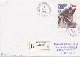 TAAF - Crozet - Recommandé – H14 - Storia Postale