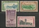 NEW ZEALAND -1947 CENTENNIAL OF OTAGO - Yvert # 297/300 - MINT LH - Unused Stamps