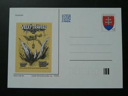 Entier Postal Stationery Card Grotte Cave Speleologie Slovaquie Ref 69589 - Cartoline Postali