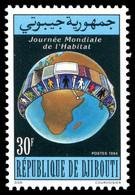 Dschibuti 1994 - Mi-Nr. 599 ** - MNH - Wohnungswesen - Djibouti (1977-...)