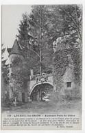 LUXEUIL LES BAINS - N° 129 - ANCIENNE PORTE DU CHENE AVEC PERSONNAGES - CPA NON VOYAGEE - Luxeuil Les Bains