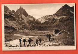 CAG-28  Passo Campolungo  Alpinistes Bergleute  Circulé, Timbre Manque Gaberell  E Borelli Airolo - TI Tessin