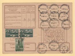 Carte D Abonnement Aux Emissions De Timbres Poste - 1944 - Chartres Eure Et Loir - Affranchissement Rare - 1921-1960: Periodo Moderno