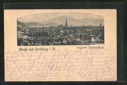 AK Freiburg I. B., Gesamtansicht - Freiburg I. Br.