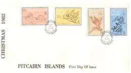 (11 20) Pitcairn Island - FDC  (1 Cover)  1982 - Christmas - Pitcairninsel