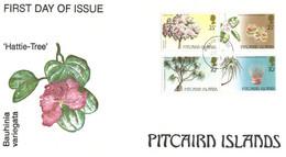 (11 20) Pitcairn Island - FDC  (1 Cover)  Hattie-Tree - Pitcairninsel
