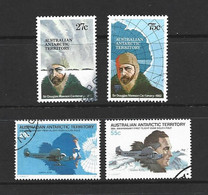 Australian Antarctic Territory AAT 1979 Flight Anniversary & 1982 Mawson Sets Of 2 VFU - Used Stamps